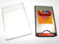 Compact Flash Card with Adapter