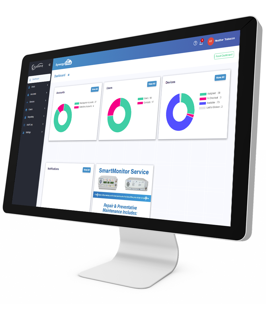Synergy Cloud Dashboard